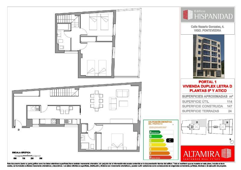 Edificio hispanidad en vigo pontevedra altamira inmuebles for Altamira muebles