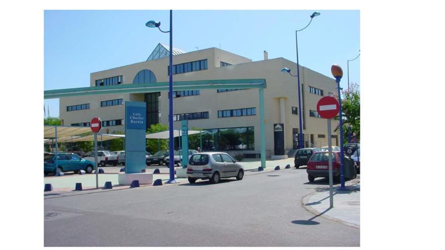 Edificio de oficinas isla de la cartuja en sevilla for Oficinas bankia sevilla