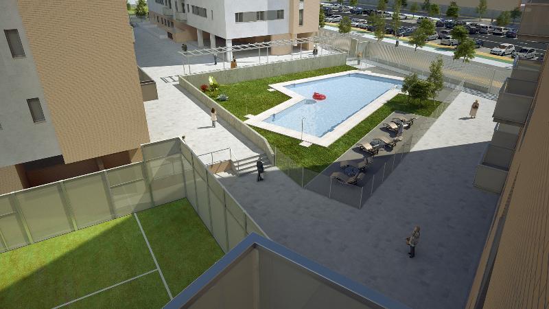 Res santa barbara en sevilla sevilla altamira inmuebles for Pisos con piscina en sevilla