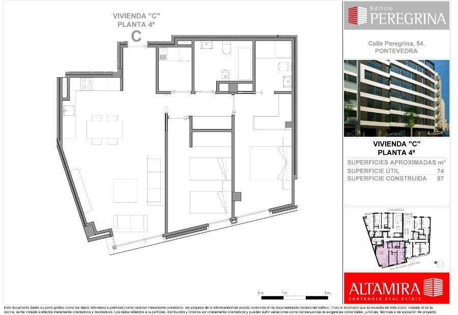 9 pisos de obra nueva en pontevedra for Pisos de obra nueva